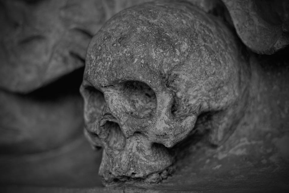 Skull And Crossbones, Skull, Dead, Skeleton, Mortal