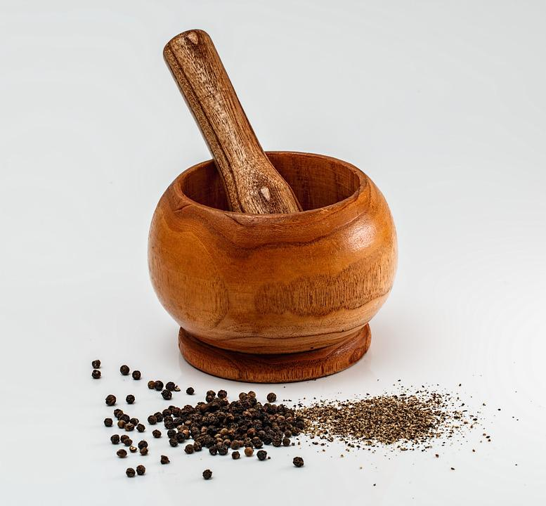 Mortar And Pestle, Grinding, Crushing, Mixing, Mortar