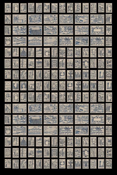 Model, Wallpaper, Abstract, Mosaic