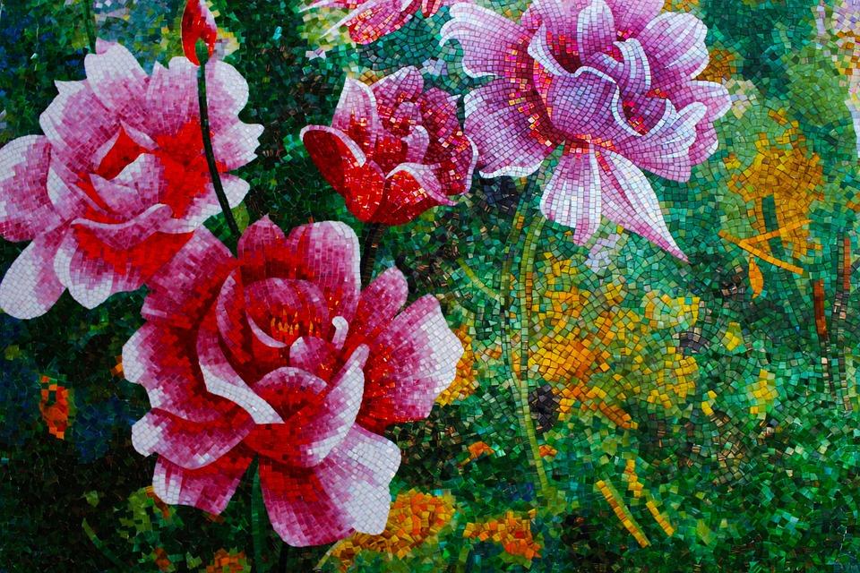 Mosaic, Tesserae, Art, Floor, Decorative, Pavement