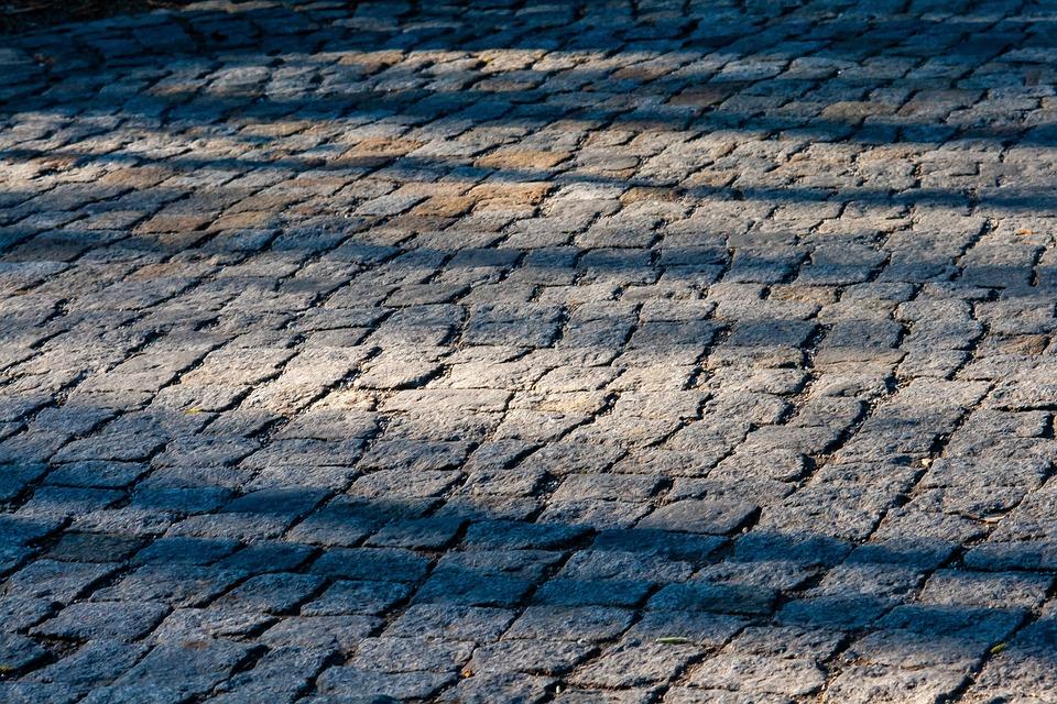 Textur, Lights, Shadows, Stones, Mosaik, Old