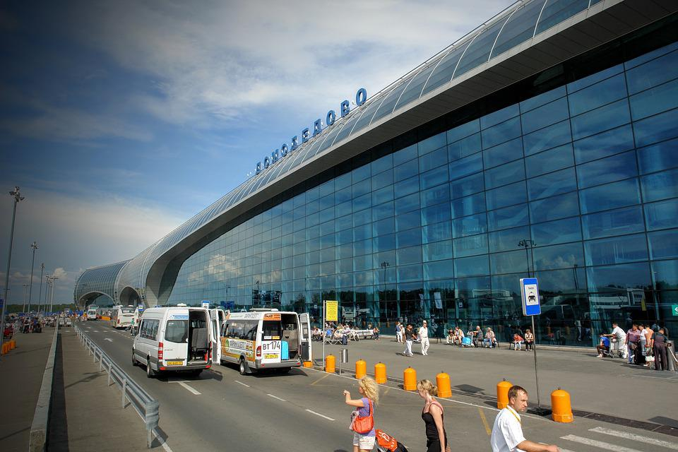 Airport, Moscow, Domodedovo, Building