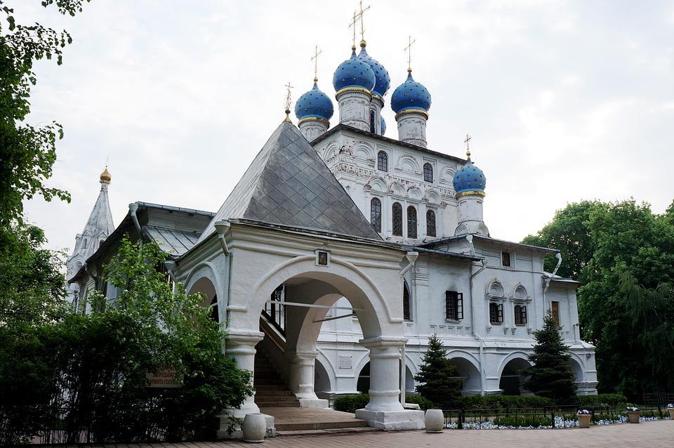 Moscow, Kolomna, Temple, Church