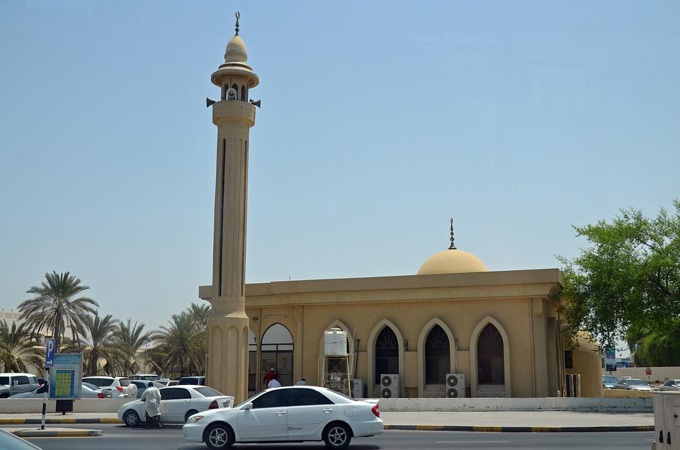 Dubai, City, U A E, Mosque
