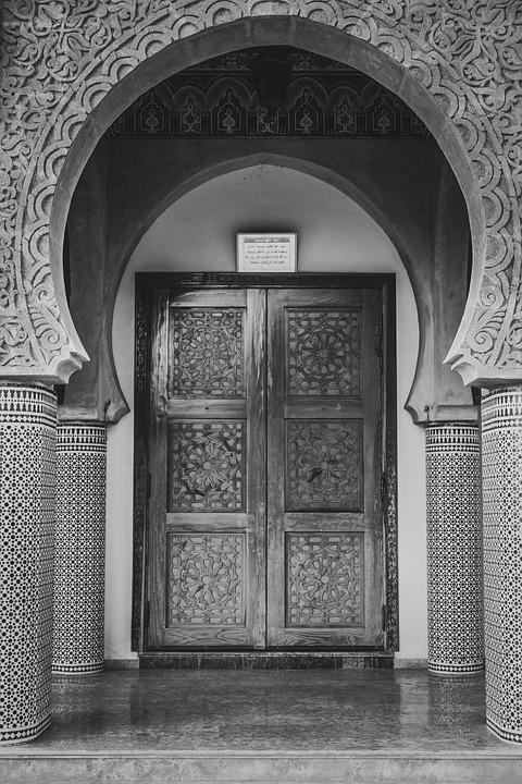 Mosque, Entrance, Exterior, Engineering