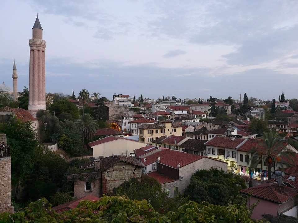Antalya, City, Homes, Mosque Of Yivli Seminars, Mosque