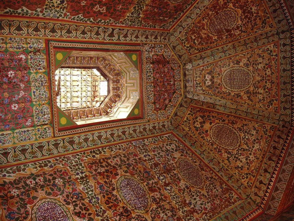 Mosque, Design, Interior, Architecture, Islam, Pattern