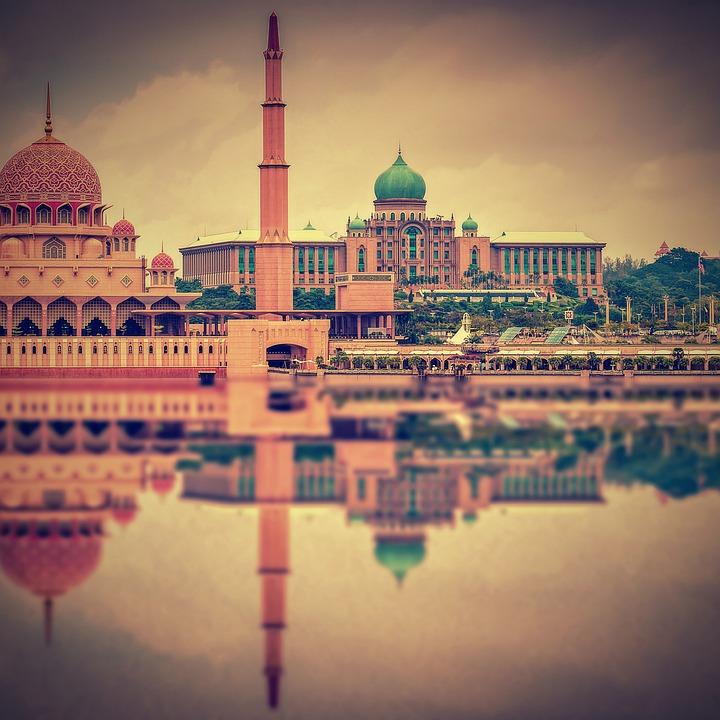 Putra Mosque, Mosque, Malaysia, Islam, Religion