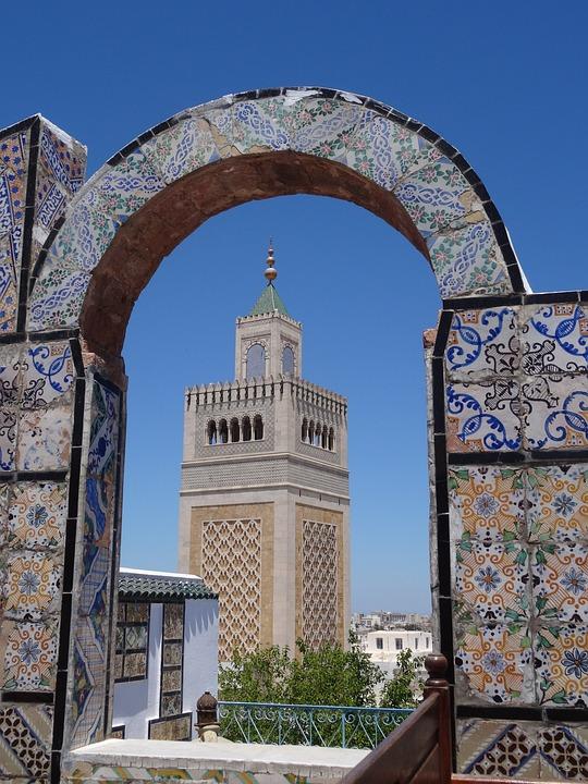 Tunis, Medina, Mosque, Tunisia, Arabic, Muslim, Africa