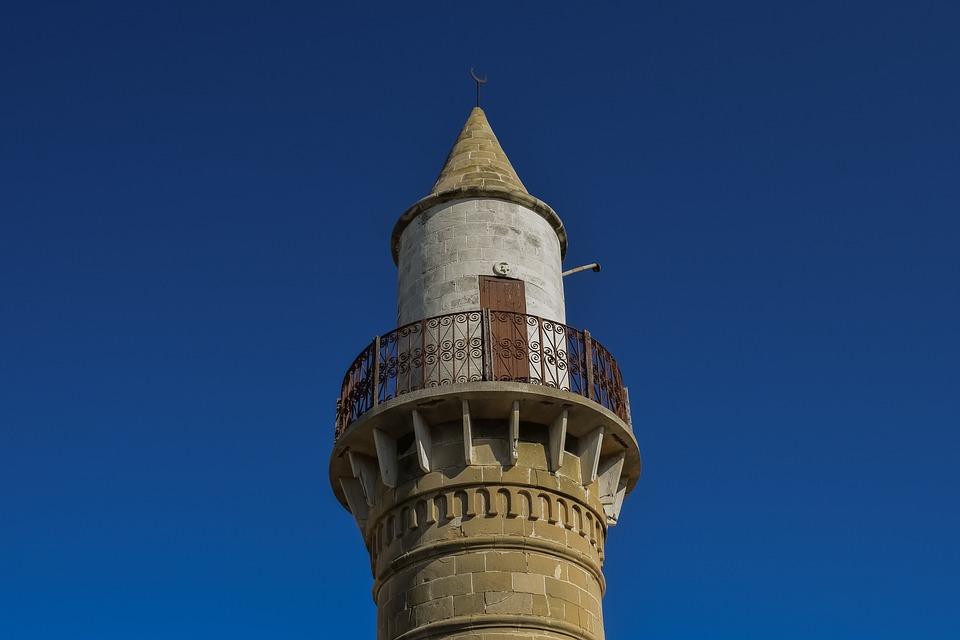 Cyprus, Kalo Chorio, Mosque, Minaret, Muslim, Religion