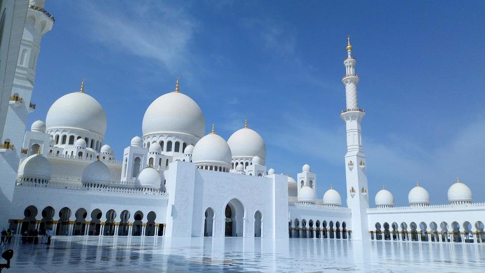 Mosque, Abu Dhabi, Religion, Architecture, Islam, Dhabi