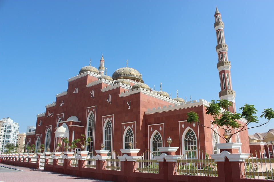 Dubai, Mosque, Emirates, Religion