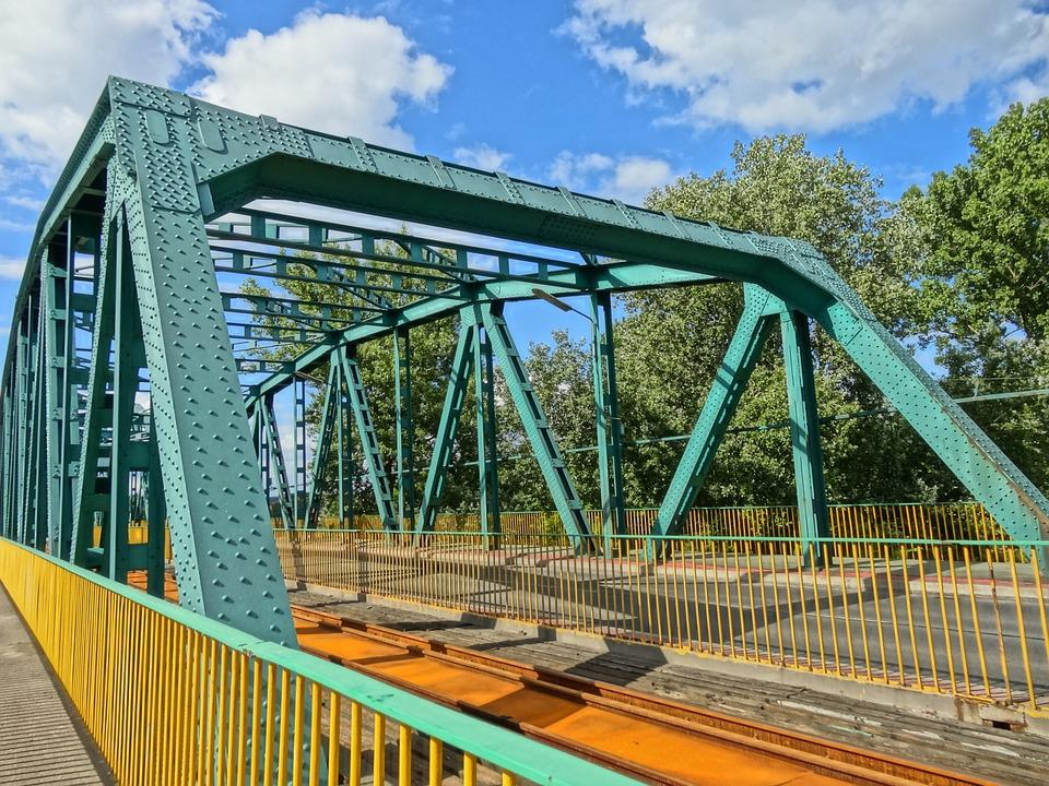 Most Fordonski, Bydgoszczy, Bridge, Crossing, Metal
