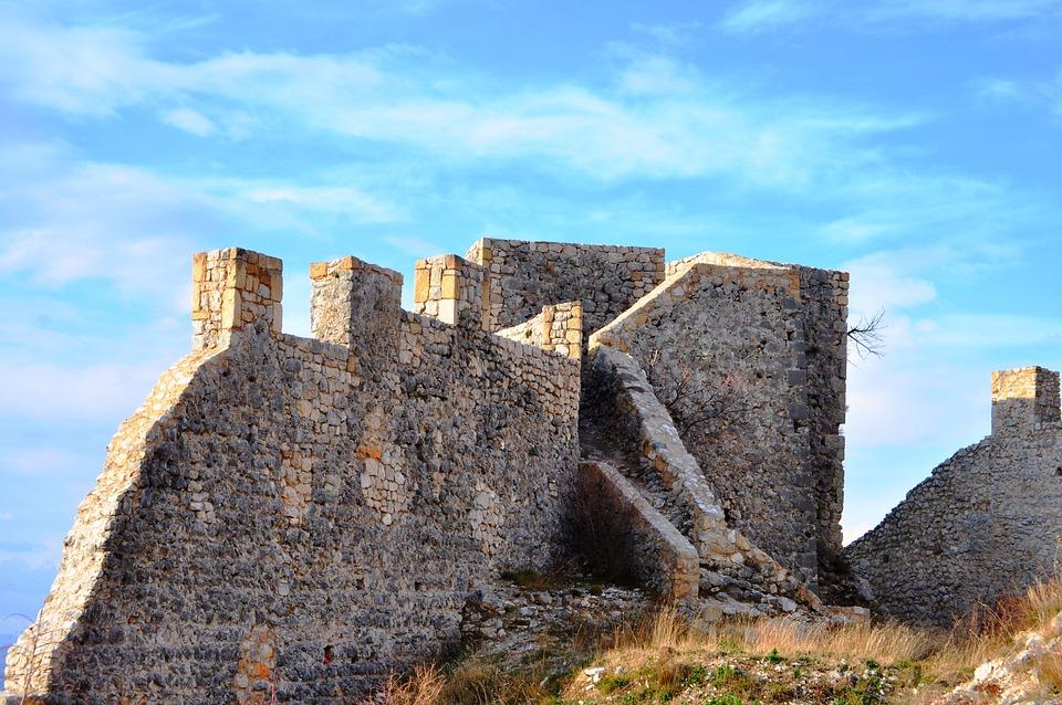 Mostar, Castle Kosaca, Bosnia And Herzegovina