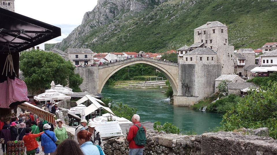 Mostar, Bosnia, Bridge