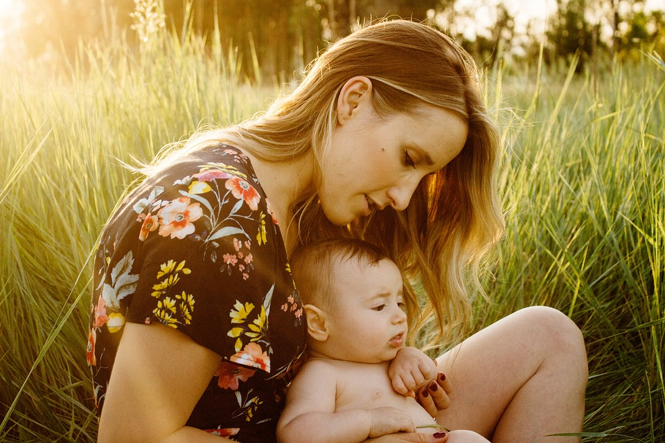 Mother, Baby, Child, Field, Motherhood, Parent