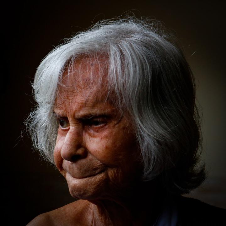 Alzheimer, Mother, Elderly Woman, Age, Seniors