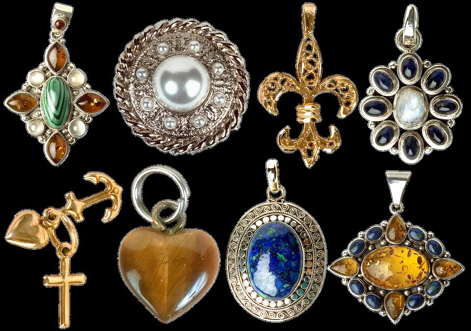 Jewelry, Brooch, Pendant, Earring, Mother Of Pearl
