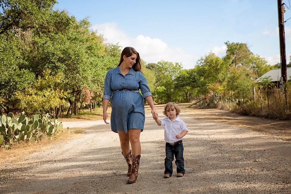 Maternity, Female, Motherhood, Pregnancy, Happy, Child