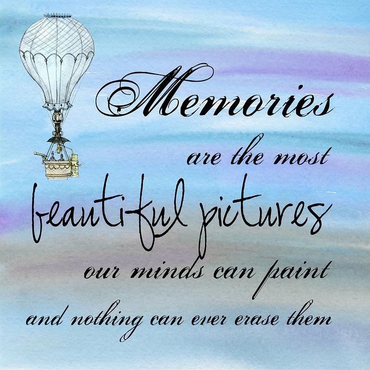 Motivational, Poster, Memories, Sentiment, Decoration