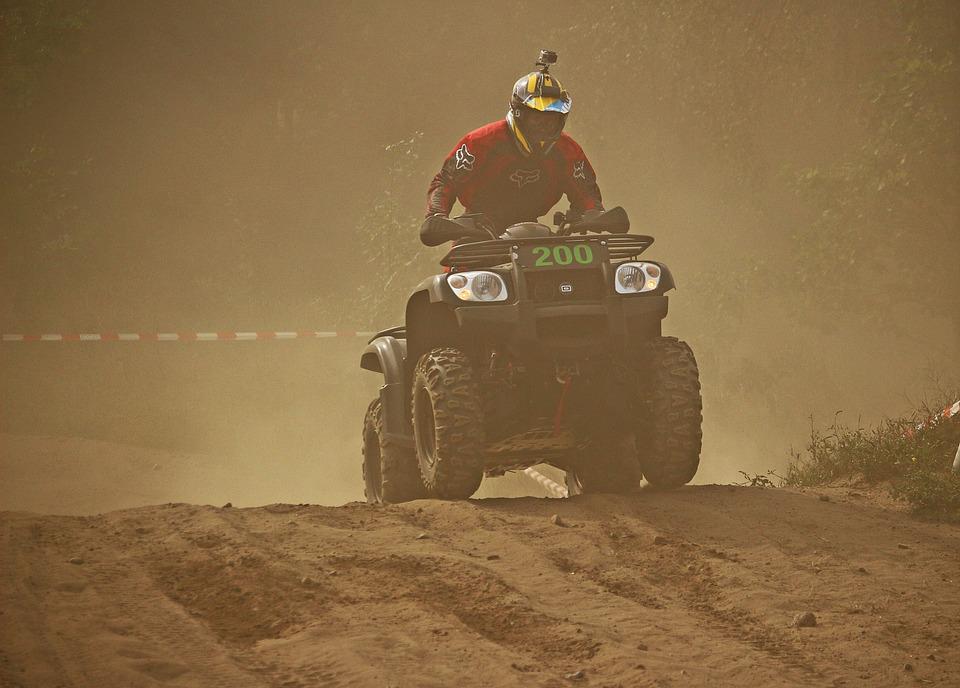 Cross, Enduro, Sand, Motocross, Dust, Atv, Quad, Race