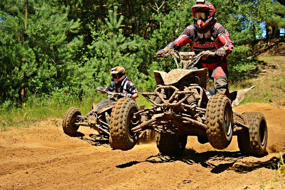 Quad Race, Motorsport, Atv, Quad, Motocross
