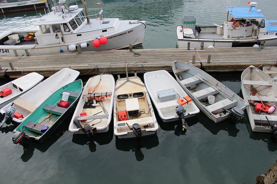 Skiff, Boat, Motor Boat, Water, Sea, Fishing, Ocean