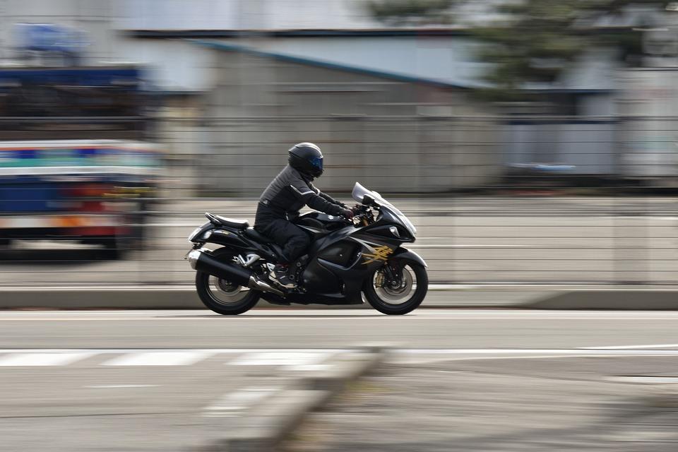 Traffic, Road, Vehicle, Bike, Motor Cycle, Suzuki