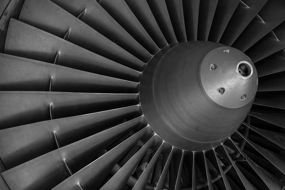 Turbine, Aircraft, Motor, Rotor, Engine, Drive, Flying