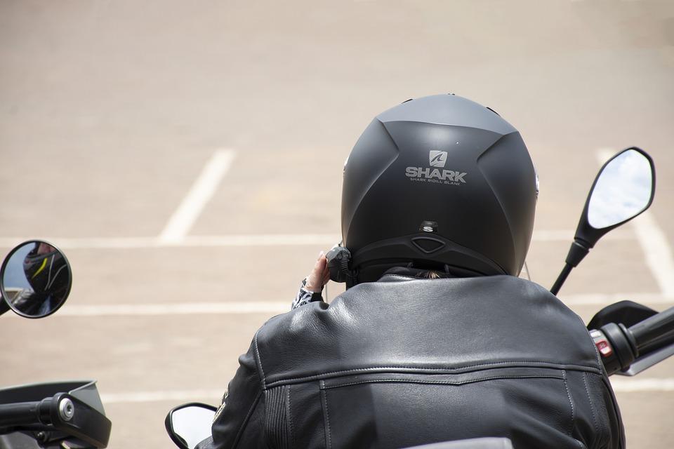 Helmet, Rider, Motor, Motorbike, Sport