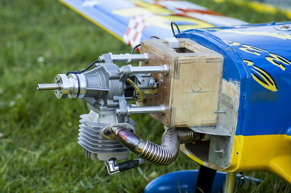 Model Airplane, Motor, Internal Combustion Engine