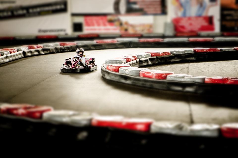 Go-kart, Action, Motor, Speed, Sport, Track, Race Track
