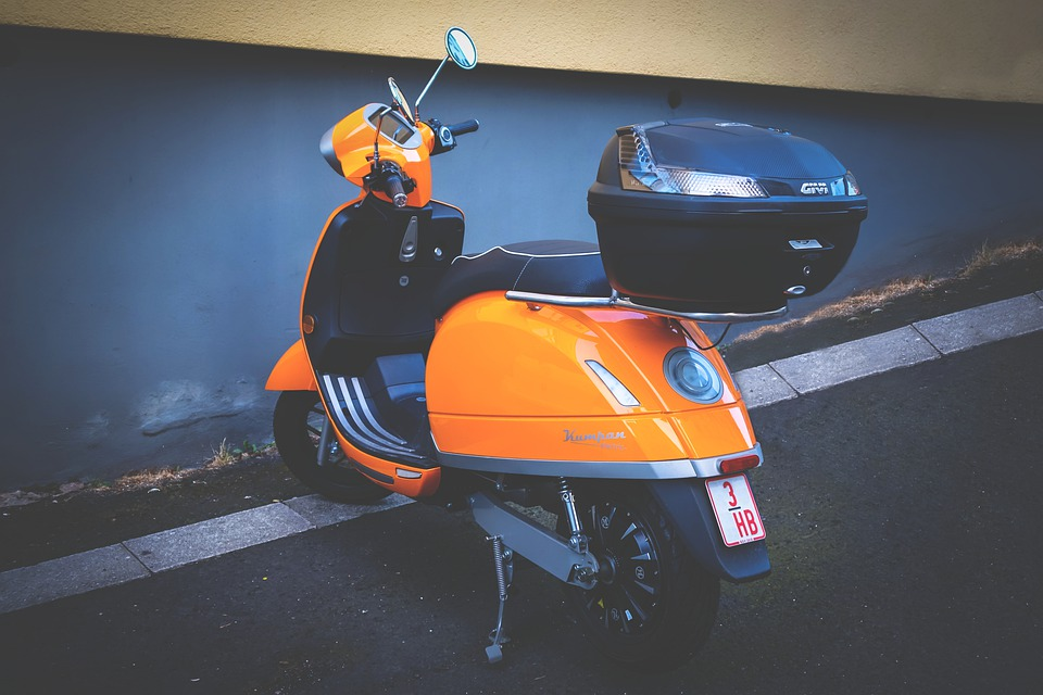 Roller, Electric Scooter, Motor Scooter