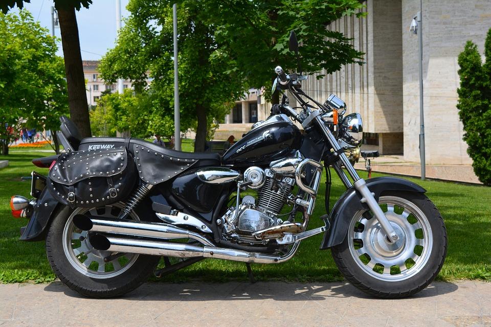 Motorcycle, Moto, Wheel, Motor, Auto, Black, Luxury