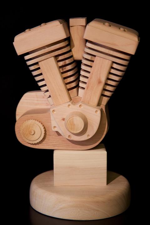 Wood, Model, Motor
