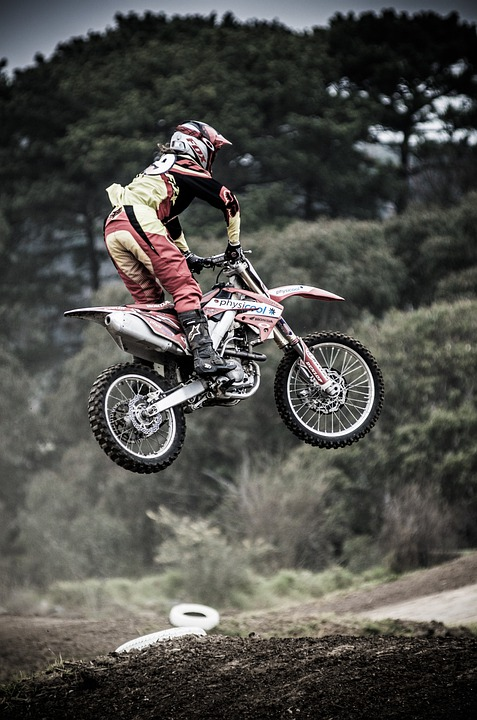 Dirt Bike, Motocross, Bike, Motorcycle, Exhaust, Metal