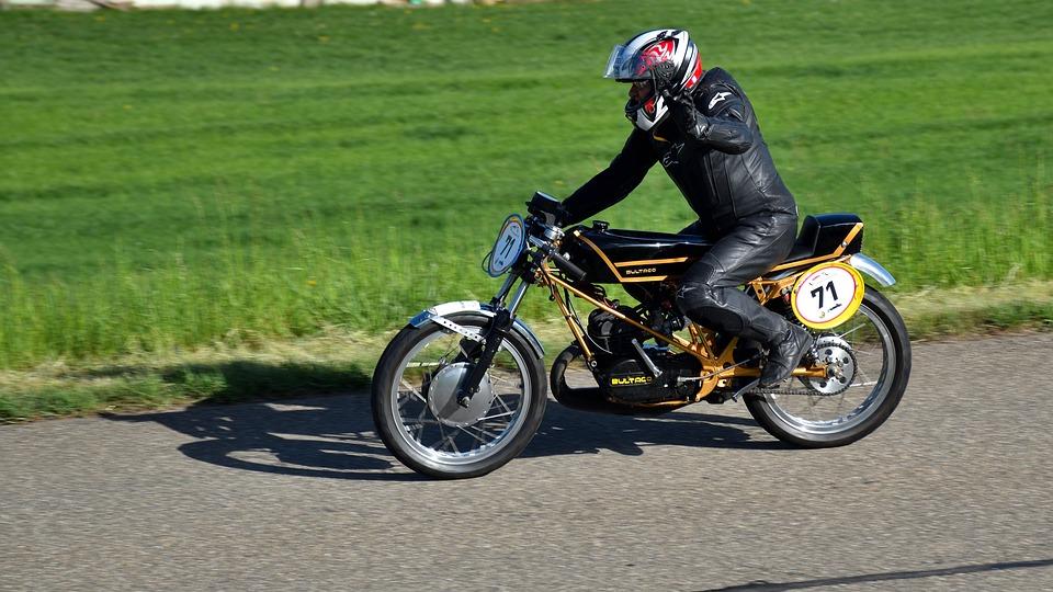 Bultaco Sc 125, Hillclimb, Motorcycle, Oldtimer, Bike
