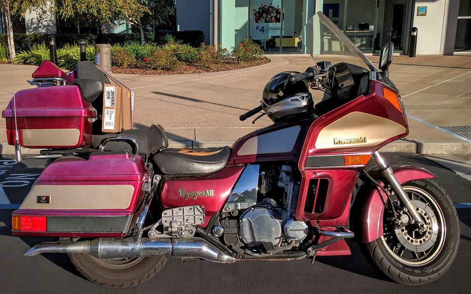 Bike, Kawasaki, Voyager, Motorcycle, Transportation