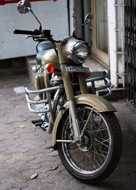 Motorcycle, Bike, Motorbike, Old, Retro