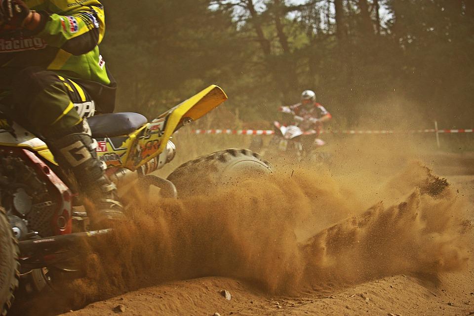 Motocross, Quad, Cross, Enduro, Atv, Sand, Motorcycle