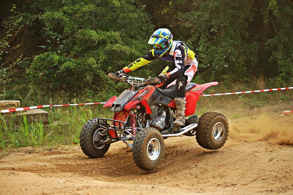 Quad, Jump, Motocross, Enduro, Atv, Motorcycle Sport