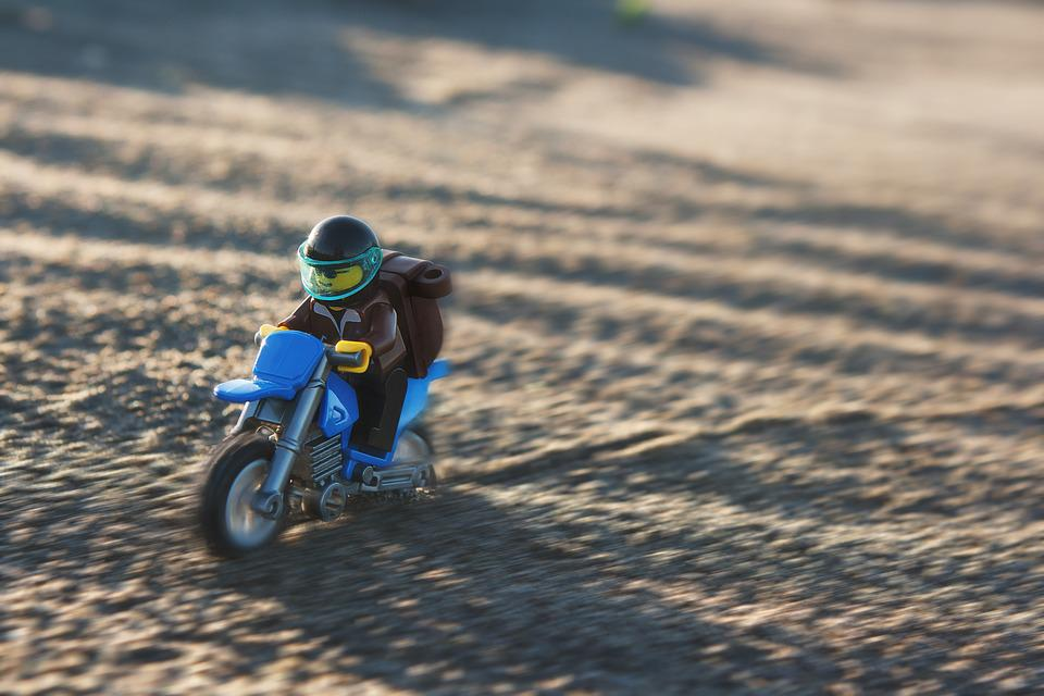 Motorcycle, Dirt Bike, Off Road, Lego, Toy, Miniature