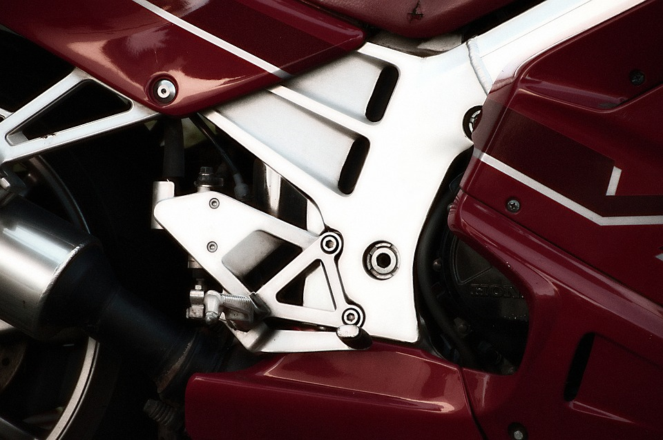 Motorcycle, Motor, Screw, View Details, Technology