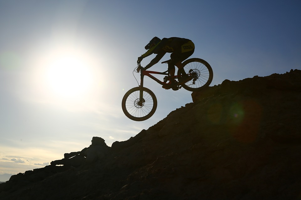 Motorcycle, Sky, Wheels, Sports, Adventure, Biker
