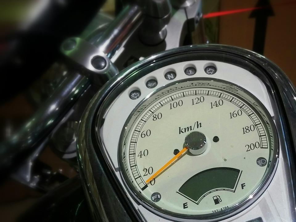 Motorcycle, Motorbike, Gauge, Motoring, Speed