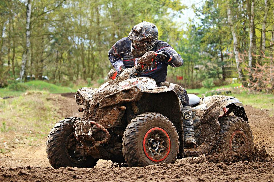 Atv, Motorsport, Enduro, Quad, Cross, Motorcycle