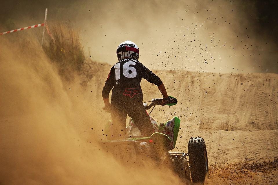 Enduro, Motorsport, Atv, Quad, Motocross, Cross, Sand