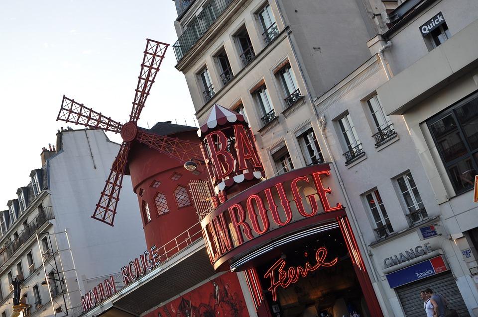 Moulin Rouge, Paris, Cabaret