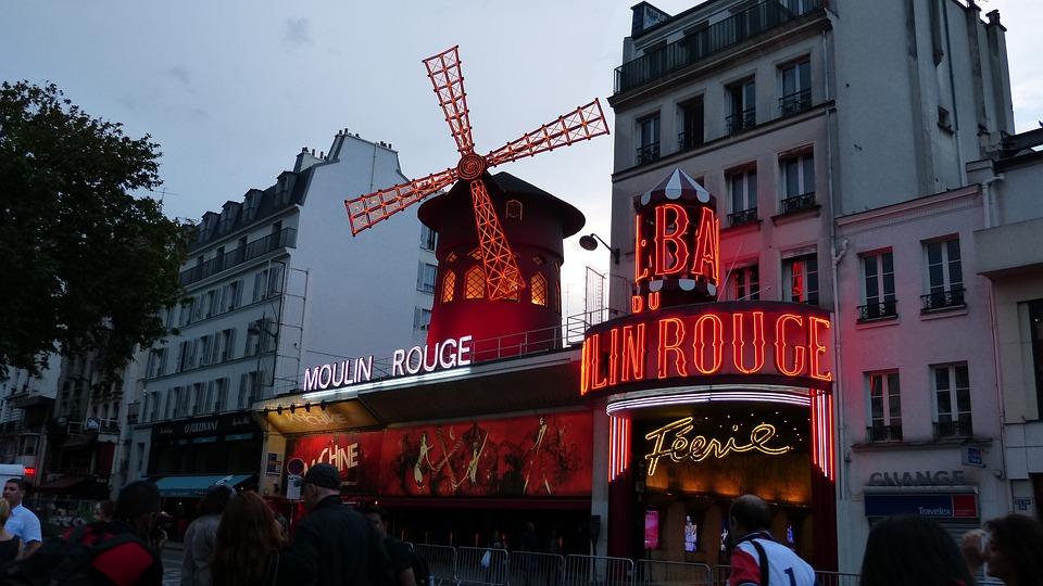 Paris, Moulin Rouge, Pleasure, Variety, Red Mill