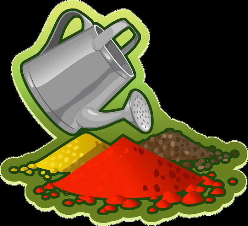 Gardening, Can, Garden, Equipment, Care, Soil, Mound
